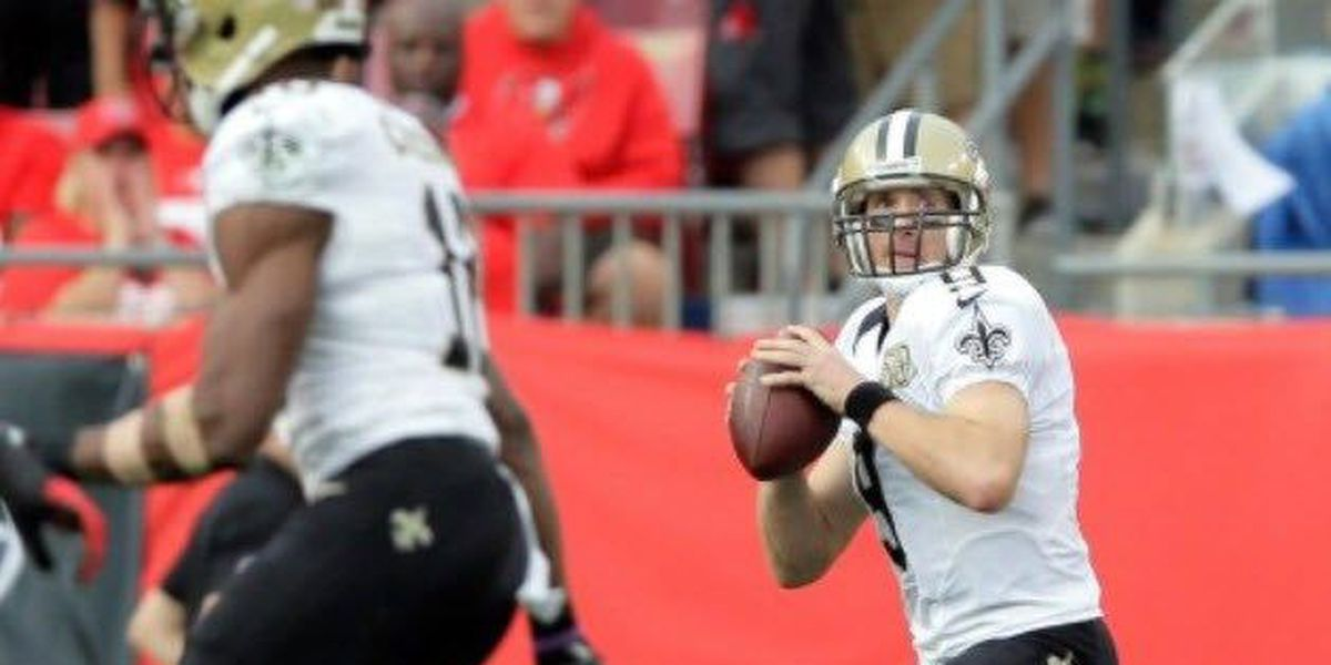 Brees throws three interceptions in back-to-back weeks, Saints fall to Buccaneers