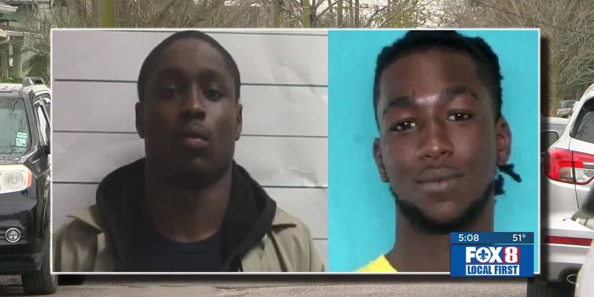 One carjacking suspect arrested; A second suspect is still wanted in a series of crimes across two parishes