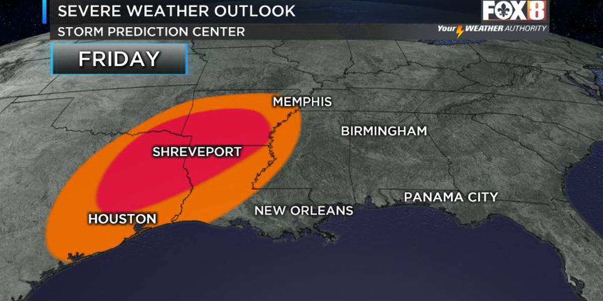Severe weather possible late week