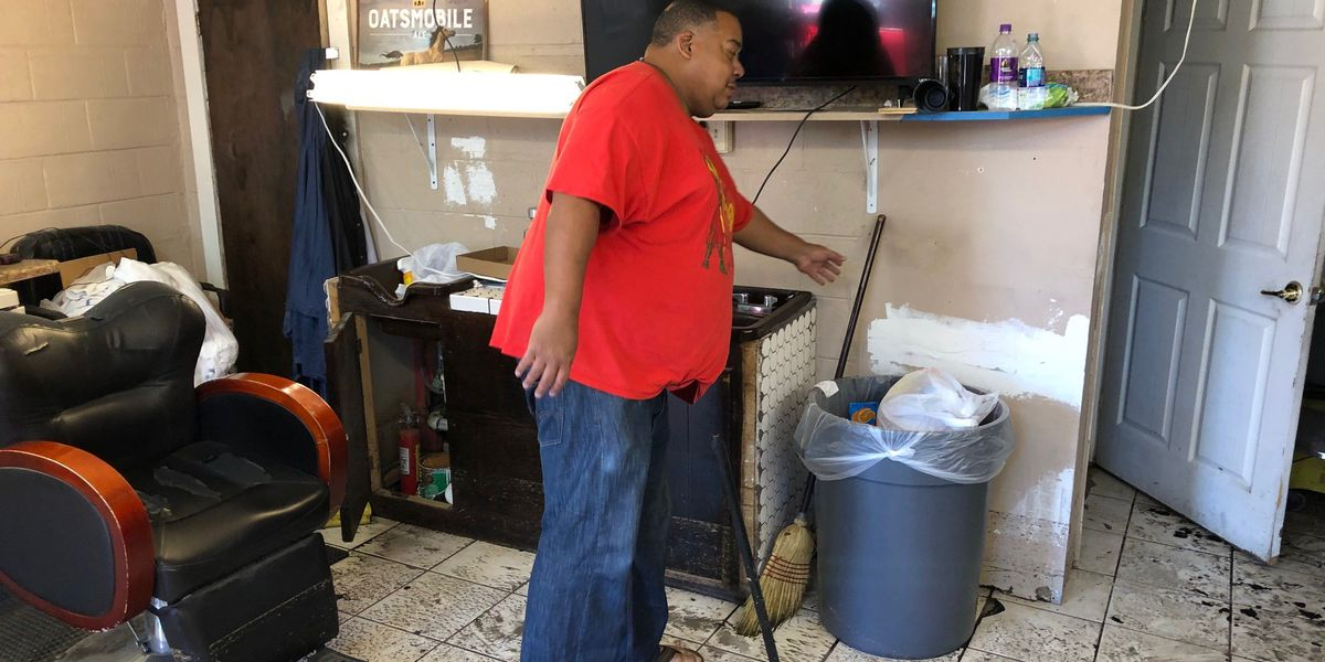 City officials assess Mother's Day flood damage as some residents mop up