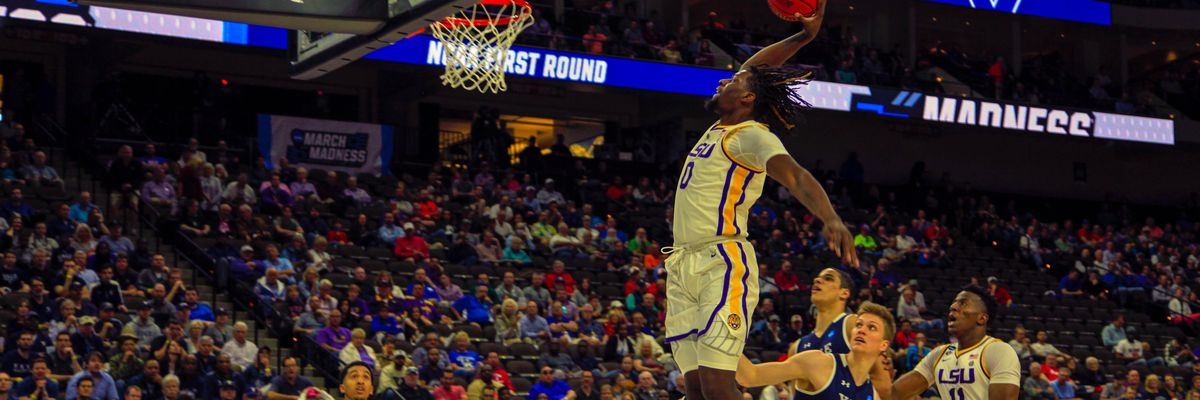No. 3 LSU basketball survives against No. 14 Yale to advance in NCAA Tournament