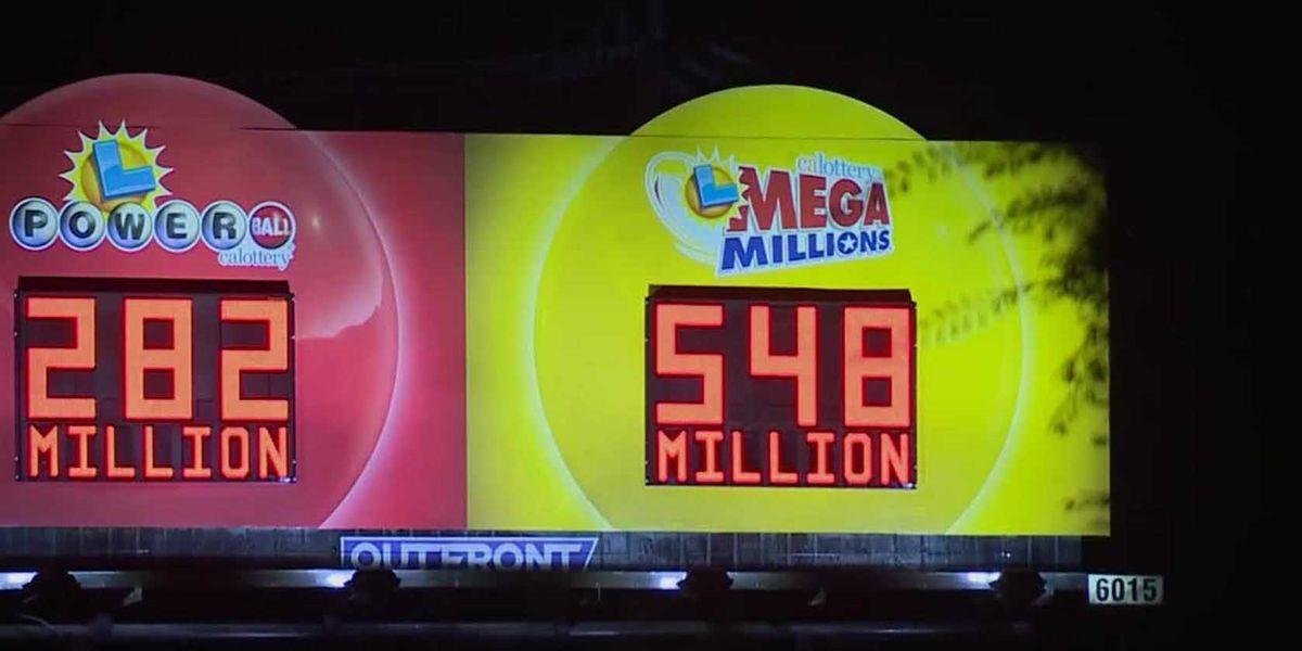 $548 million jackpot for Friday night Mega Millions drawing
