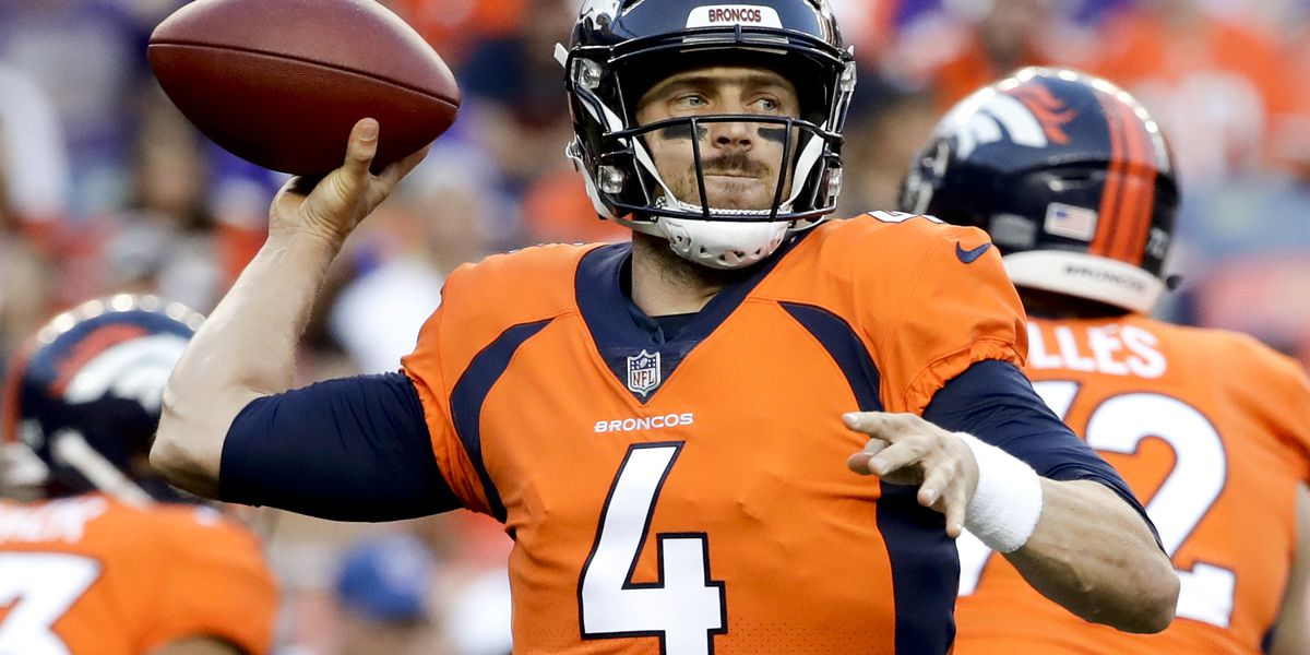 Keenum embracing role as Baker's backup