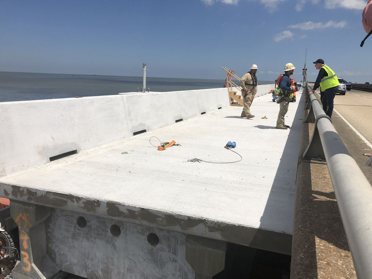 Progress shown for Causeway Bridge safety measures