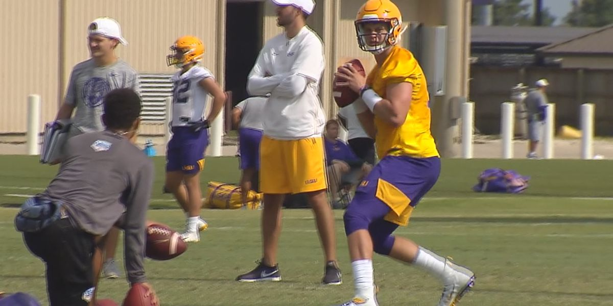 LSU Tigers working through dangerous heat levels for fall practice