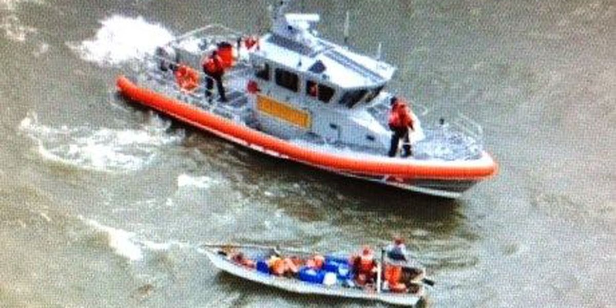 Stranded boaters rescued from Lake Pontchartrain