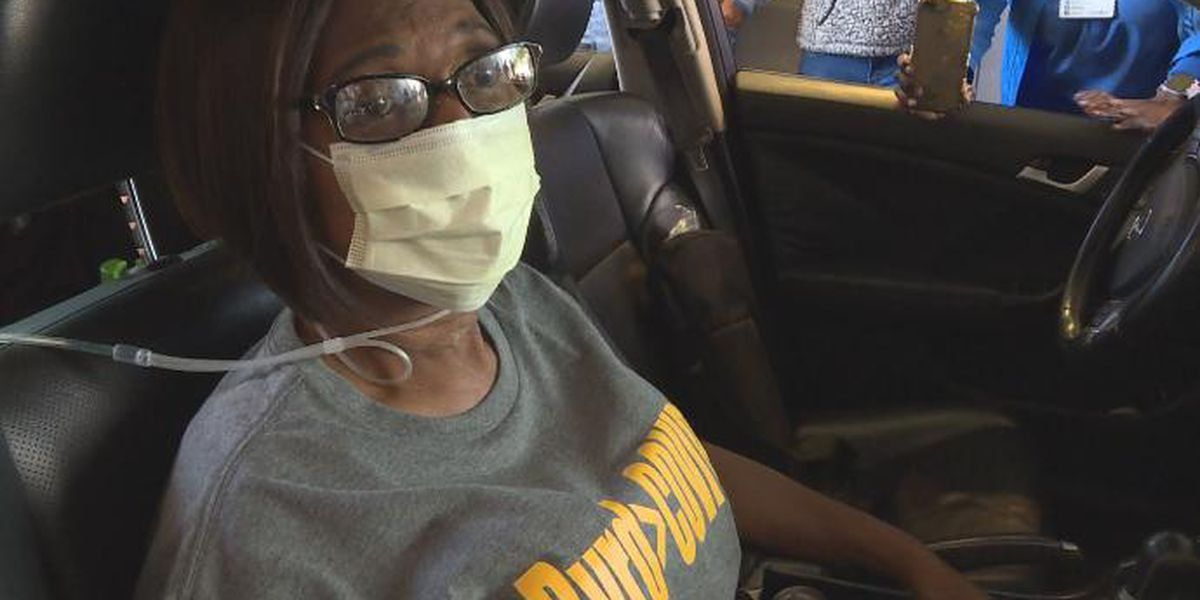COVID-19 survivor heading home after nearly losing her life