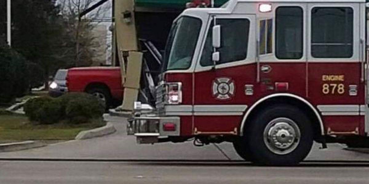 JPSO: Truck crashes into Marrero Starbucks, injuring woman