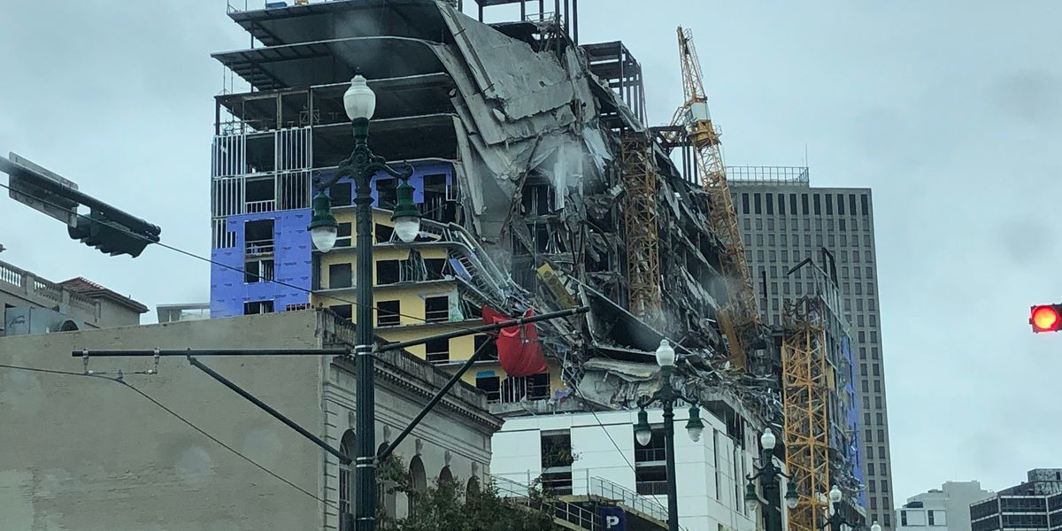 Mayor: New Orleans will now implode Hard Rock collapse site