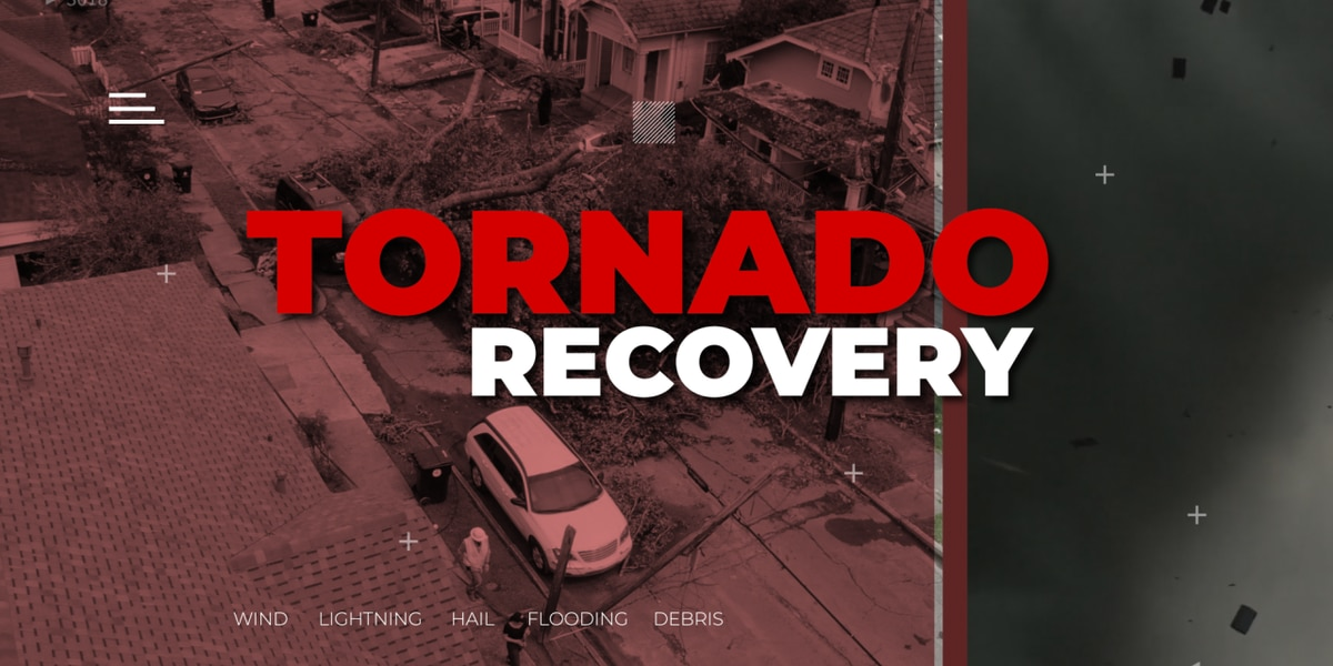 EF0 tornado touched down in New Orleans, crossed river into Algiers, NWS confirms