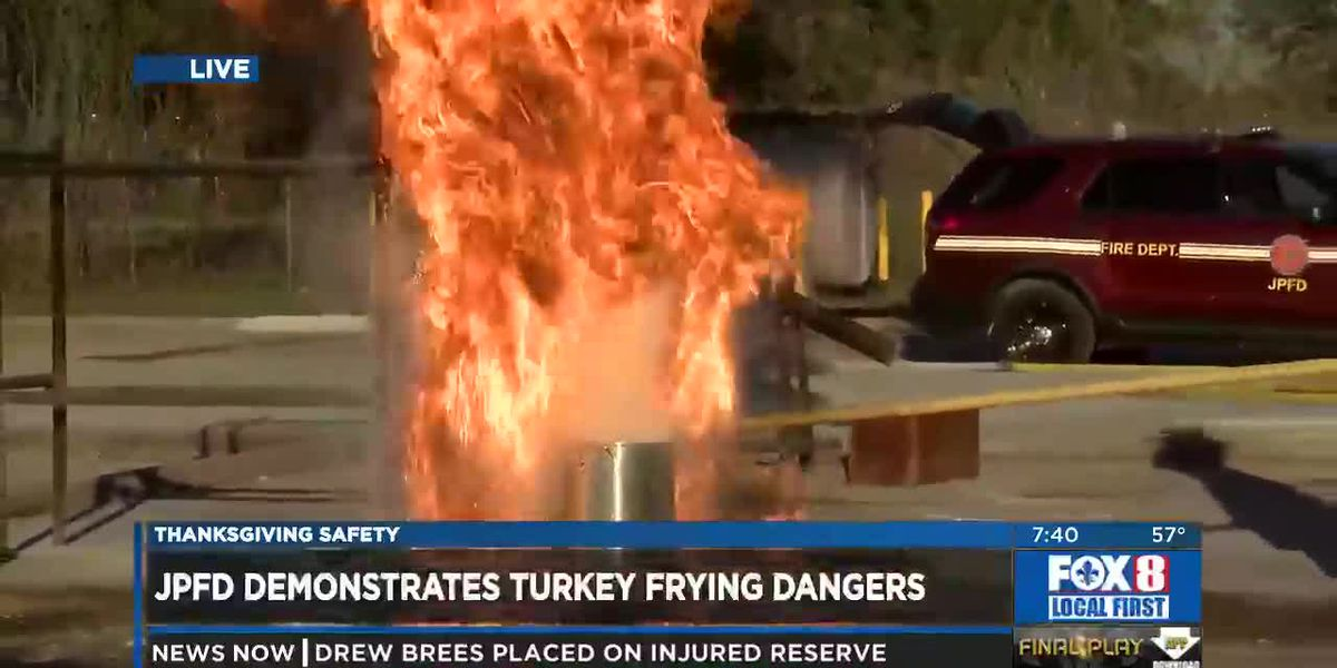 How NOT to Fry a Turkey