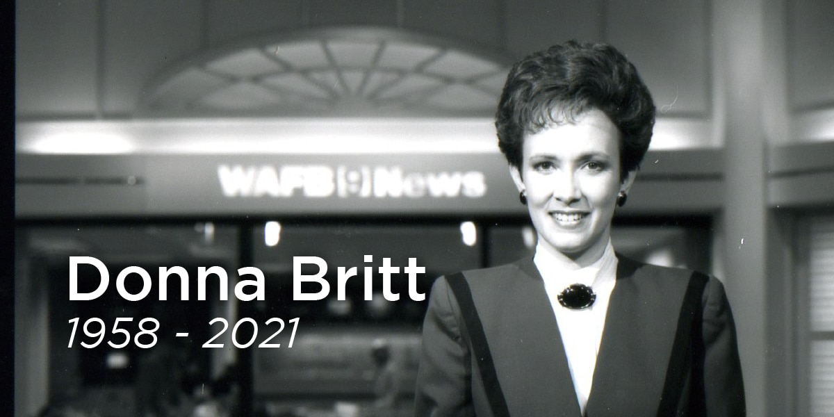 Beloved WAFB anchor Donna Britt passes away