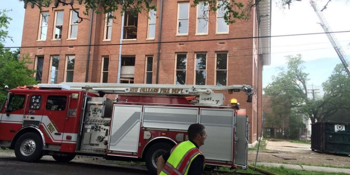 3-alarm fire breaks out at school under renovation in Touro area