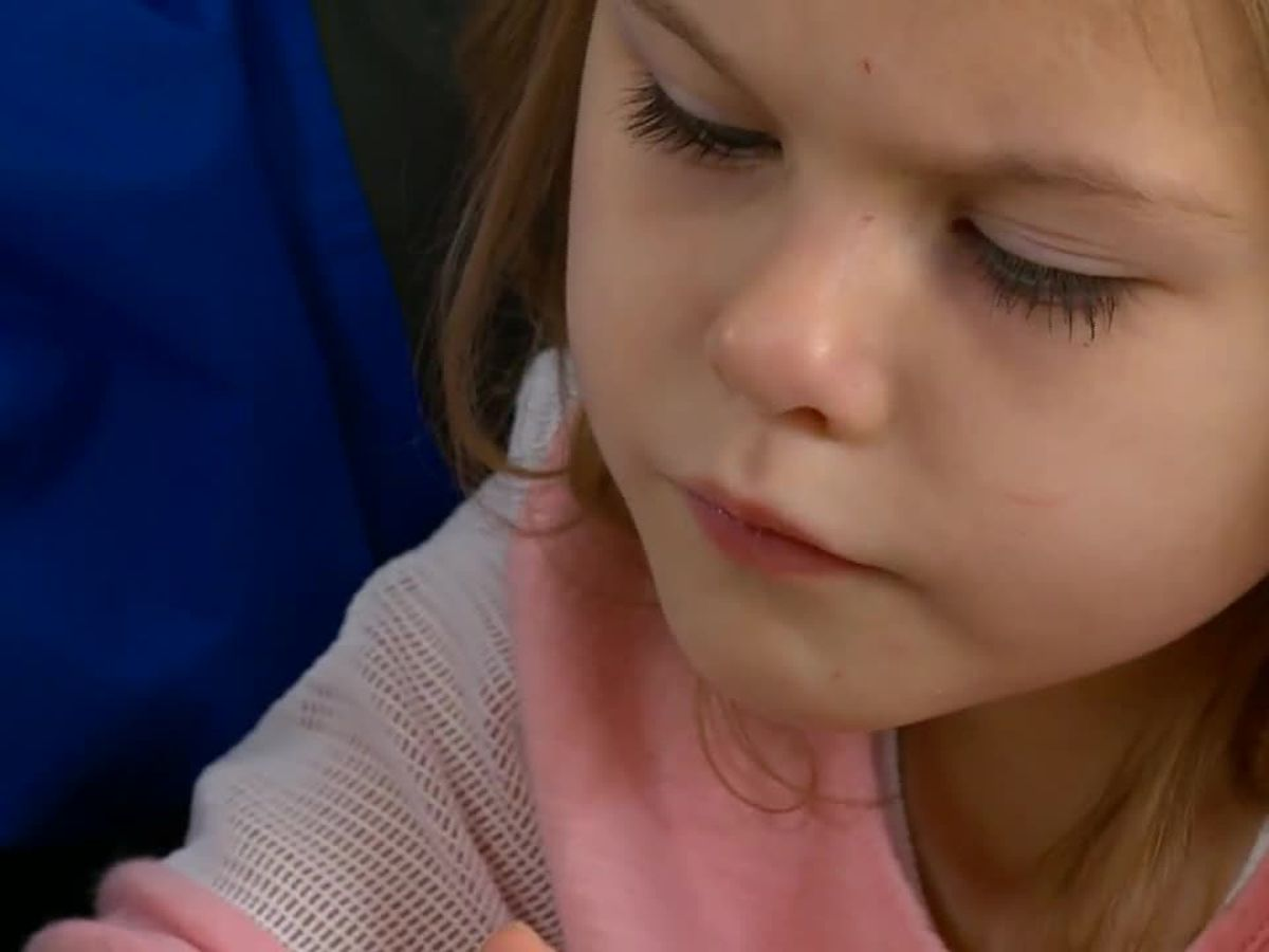 Iowa girl faces her 43rd surgery; she's only 4