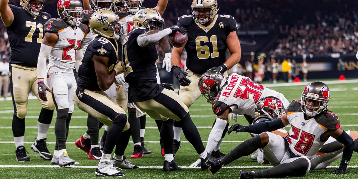 Buccaneers G Alex Cappa breaks arm, finishes Saints game