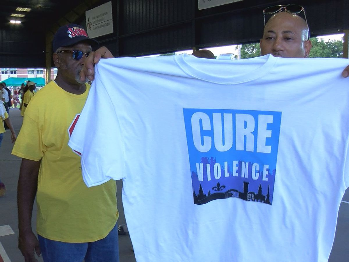 Mayor announces new 'Cure Violence' initiative at Night Out Against Crime