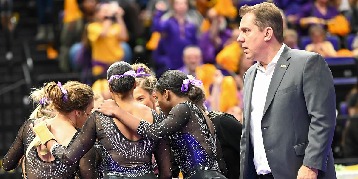 Slow start dooms No. 6 LSU gymnastics against No. 7 Alabama at PMAC