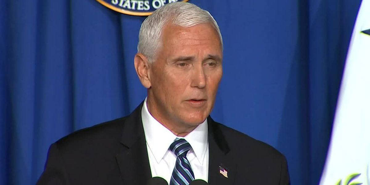 WATCH LIVE: Vice President Mike Pence to visit Baton Rouge Tuesday for discussion on fight against COVID-19