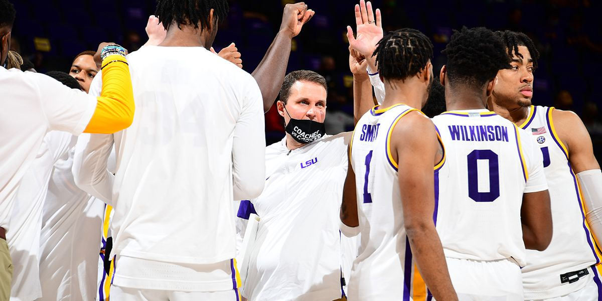 LSU picks up the 94-80 win over Miss. St. to avoid 3-game skid