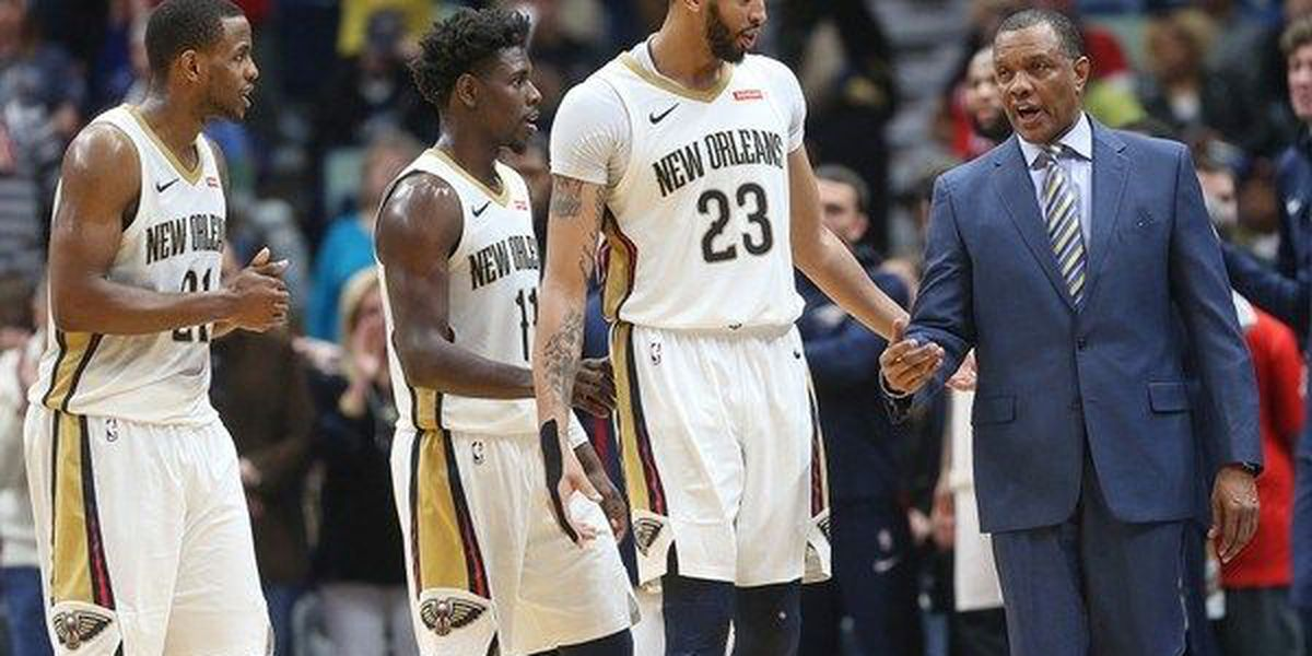 Pels crush Grizzlies, extend lead for 8th seed