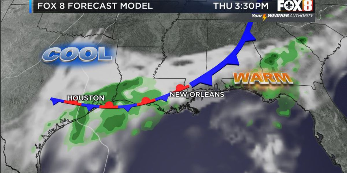 Bruce: Wet weather returns mid-week