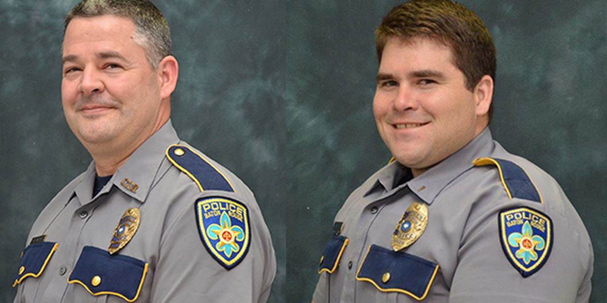BRPD identifies two officers shot Sunday; fallen officer honored with procession Tuesday