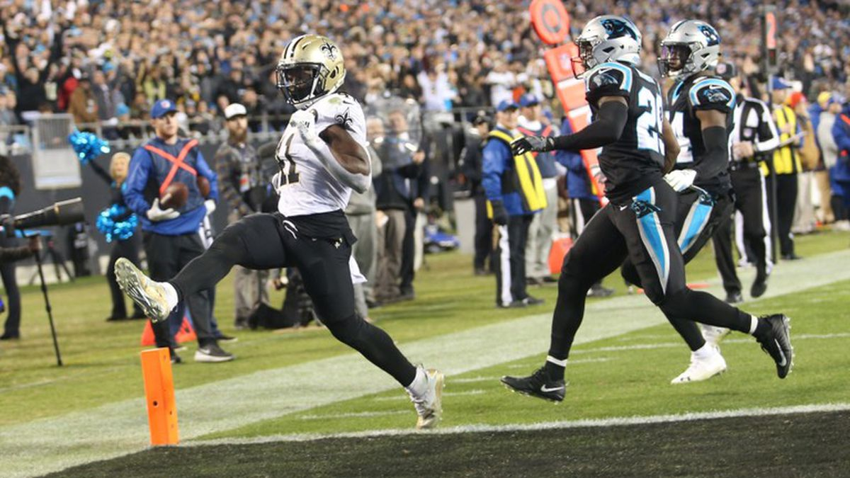 Saints one step closer to securing home field advantage