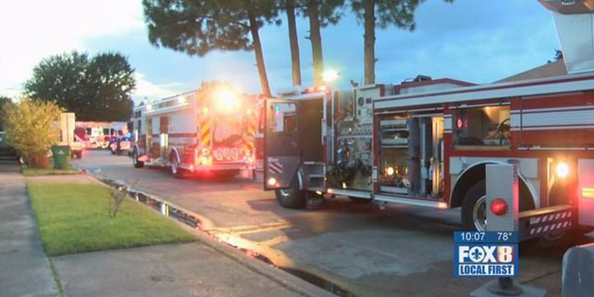 Fire at Harvey home leaves woman critically injured