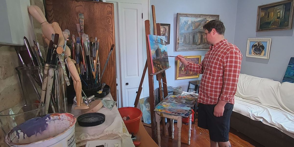 Inspired by demonstrations, New Orleans attorney paints recent protests
