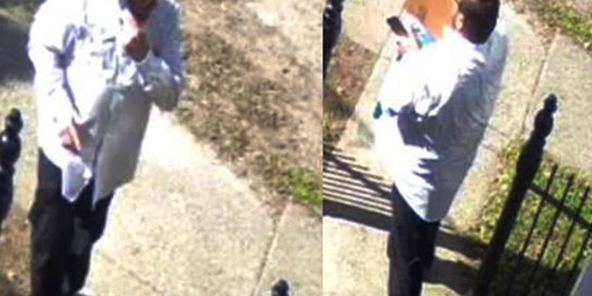 Bold package theft caught on camera in Mid-City