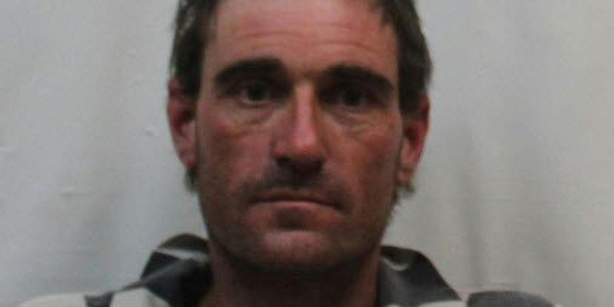 A man described by police as very nervous is arrested on meth charges