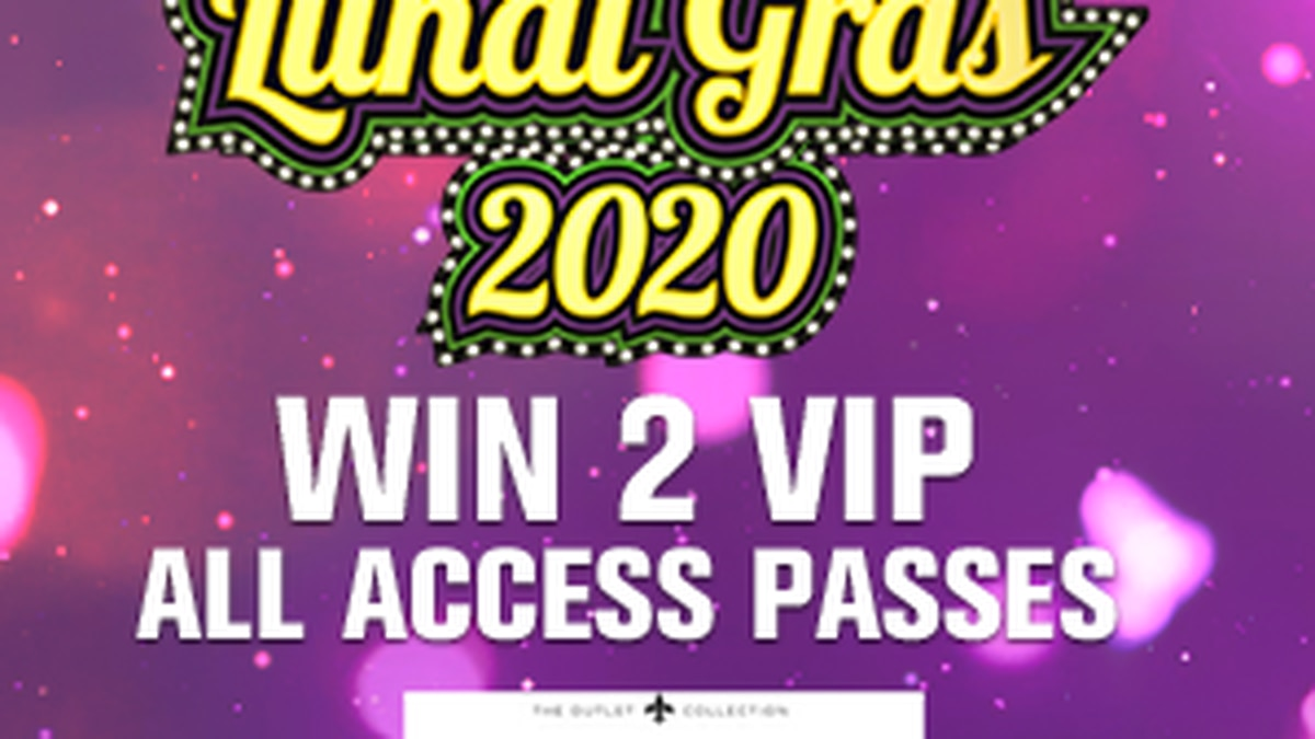 OFFICIAL CONTEST RULES: The Riverwalk 2020 Lundi Gras VIP Giveaway