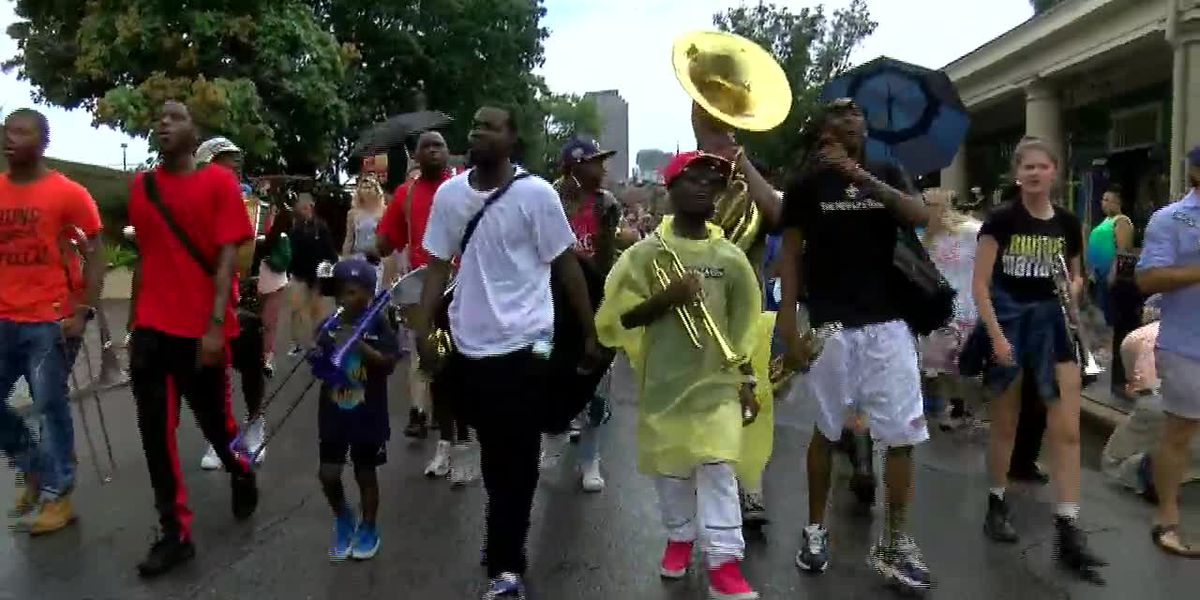 Rally organized for trumpeter in NOPD confrontation video