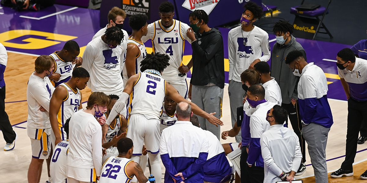 LSU men's basketball game against Florida postponed due to COVID-19