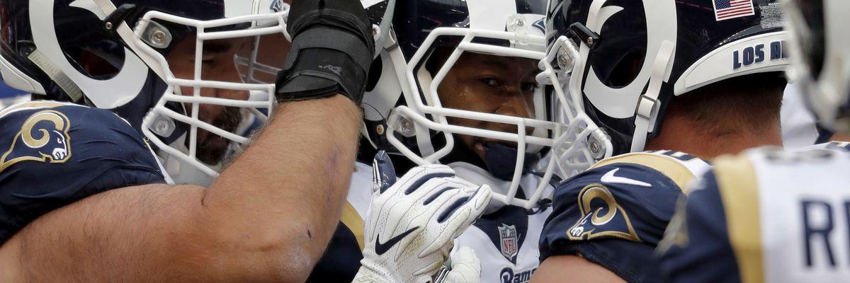 Unbeaten Rams still top AP Pro32 poll; Patriots are No. 2