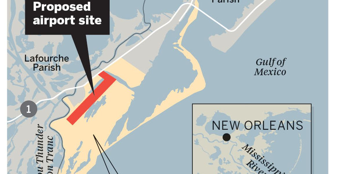 Feedback welcomed on Elmer's Island airport proposal