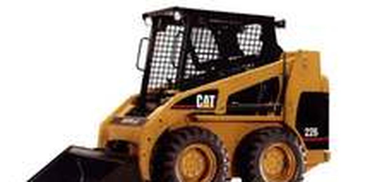 Police need help finding stolen construction equipment