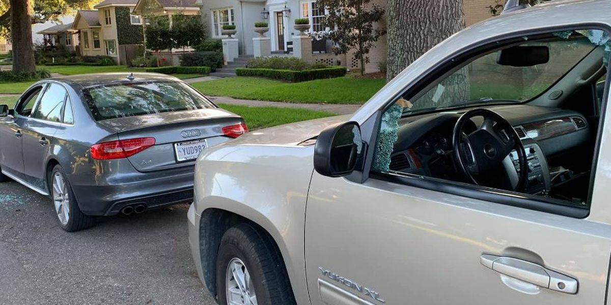 NOPD: Car burglars targeting tint windows
