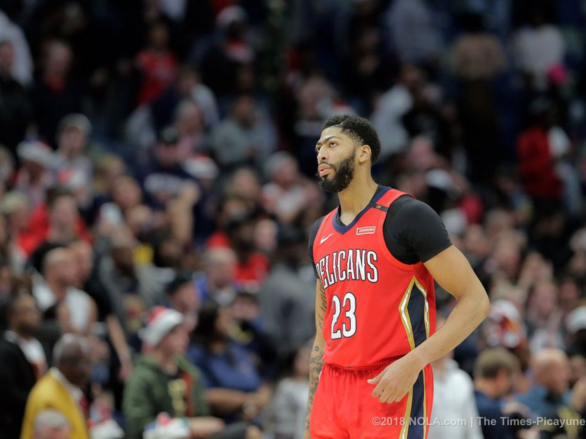 Bruised shoulder doesn't keep Anthony Davis out of NBA All-Star Game