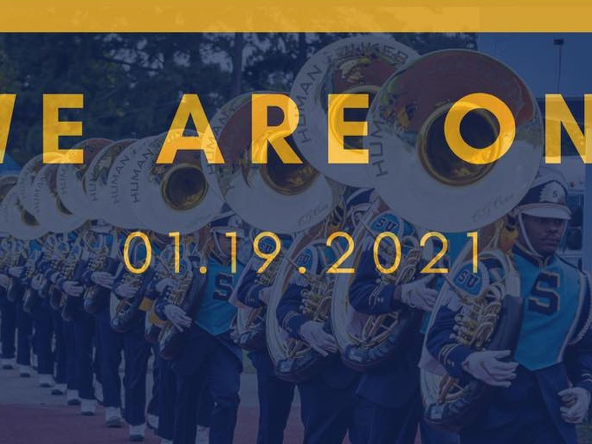 Southern University's Human Jukebox Marching Band featured in President-elect Biden's 'We Are One' event