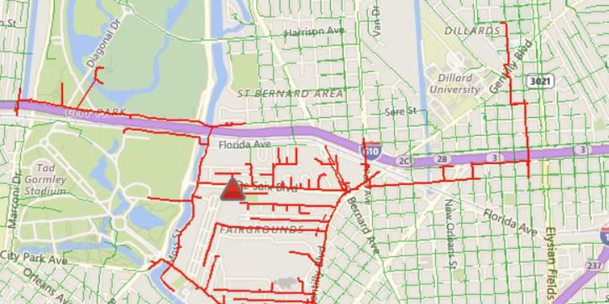 Entergy power outage affects parts of City Park area