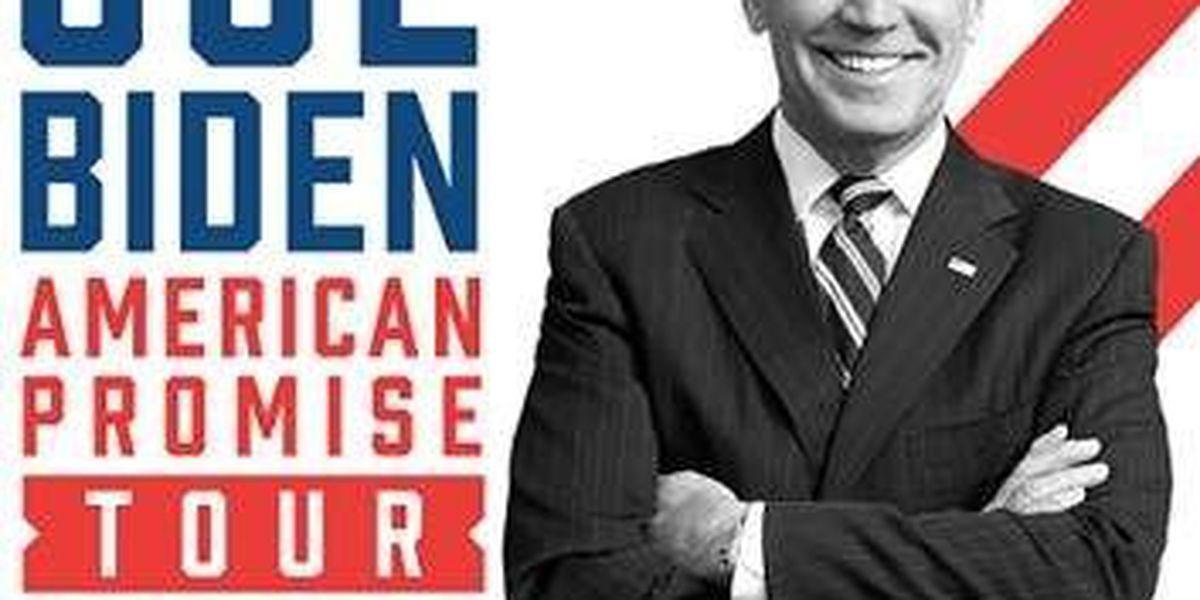 Joe Biden bringing book tour to New Orleans