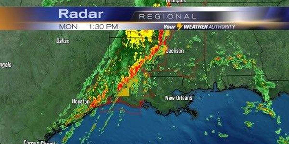 Tornado watch issued for SE LA and coastal MS