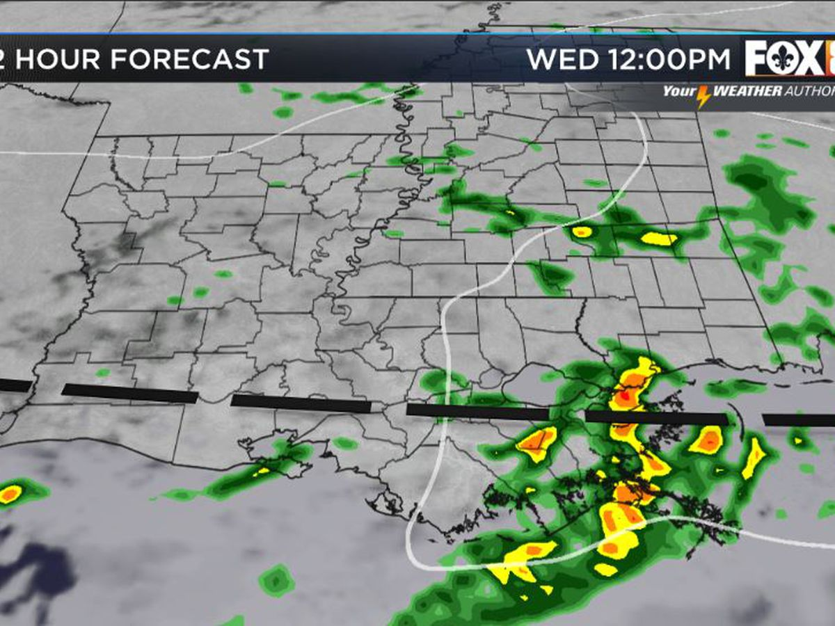Bruce: More rounds of storms with rain chances through Saturday