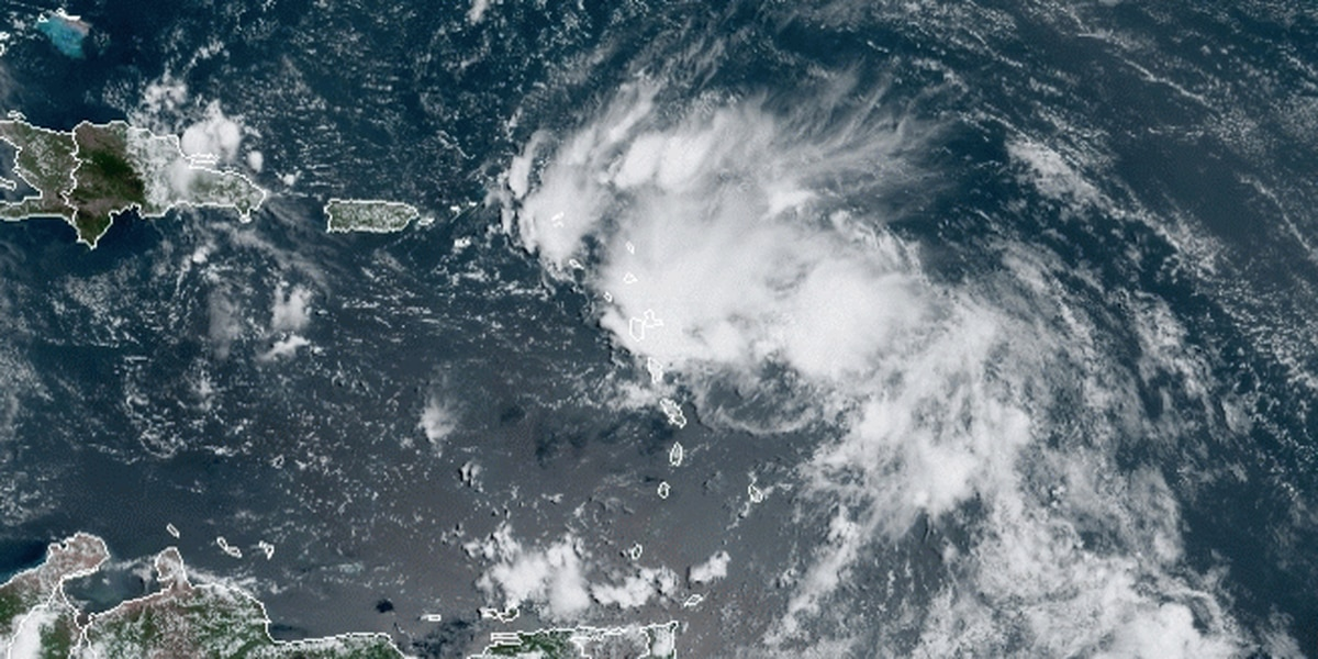 2 tropical systems pose possible double threat to US Gulf Coast