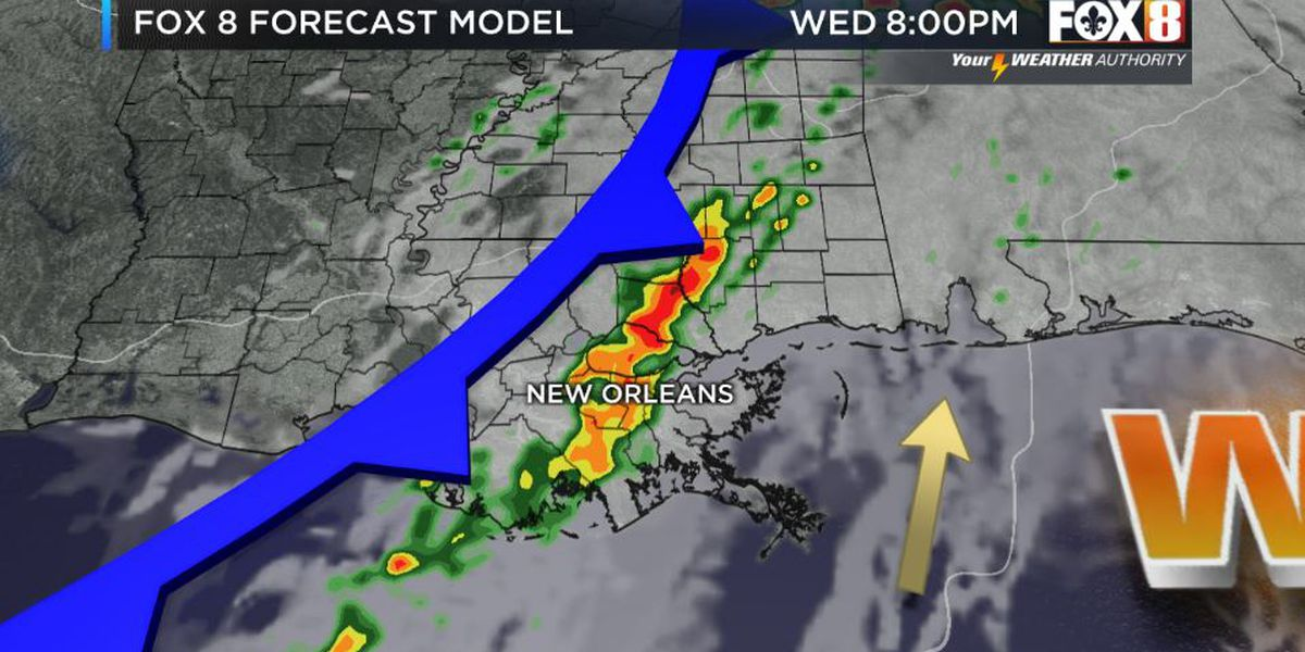 Bruce: Spotty Showers Today-Strong Storm Chance Tomorrow