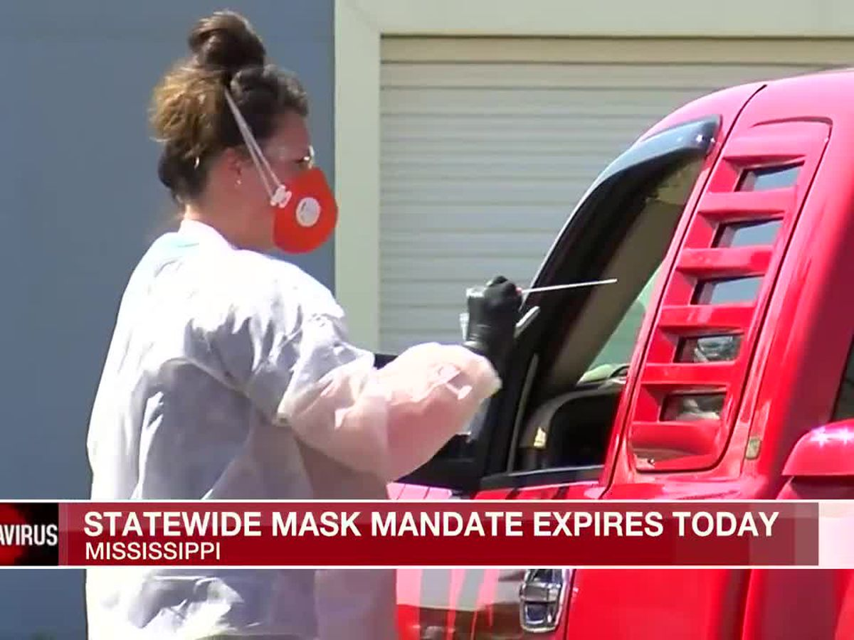 Miss. statewide mask mandate set to expire today