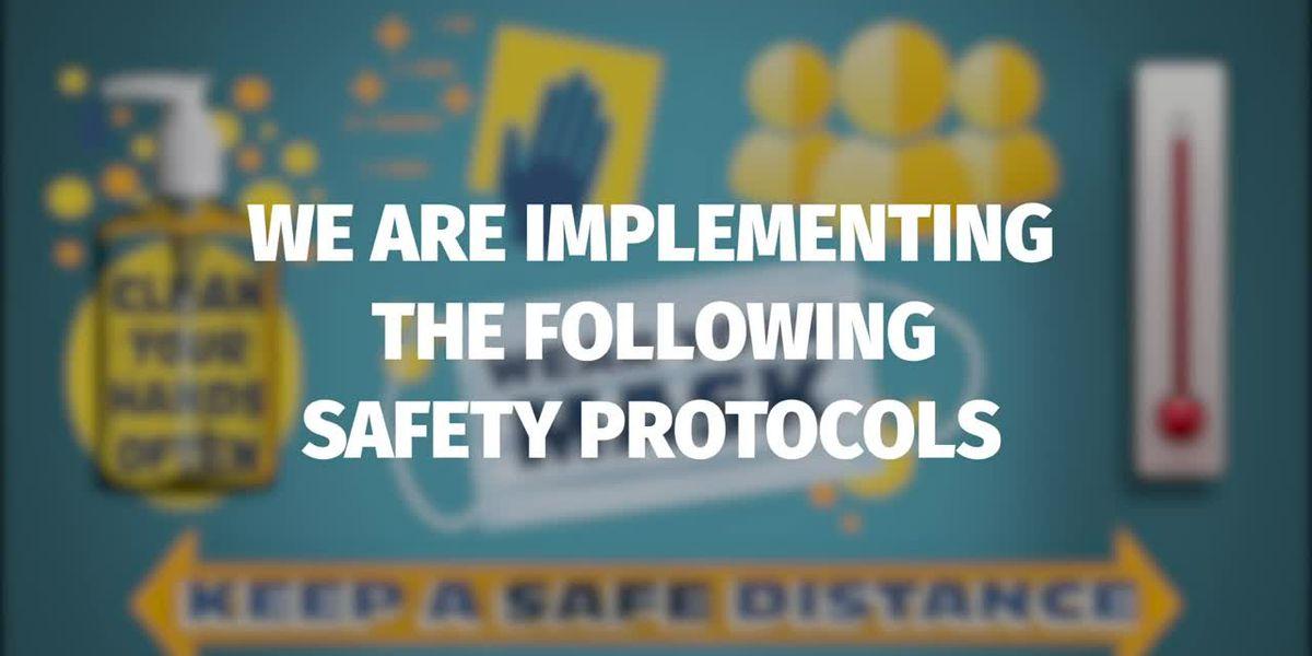 Jefferson Parish Public Schools release video of school cleaning protocols