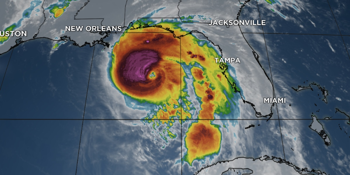 Category 4 Michael approaching landfall in Florida