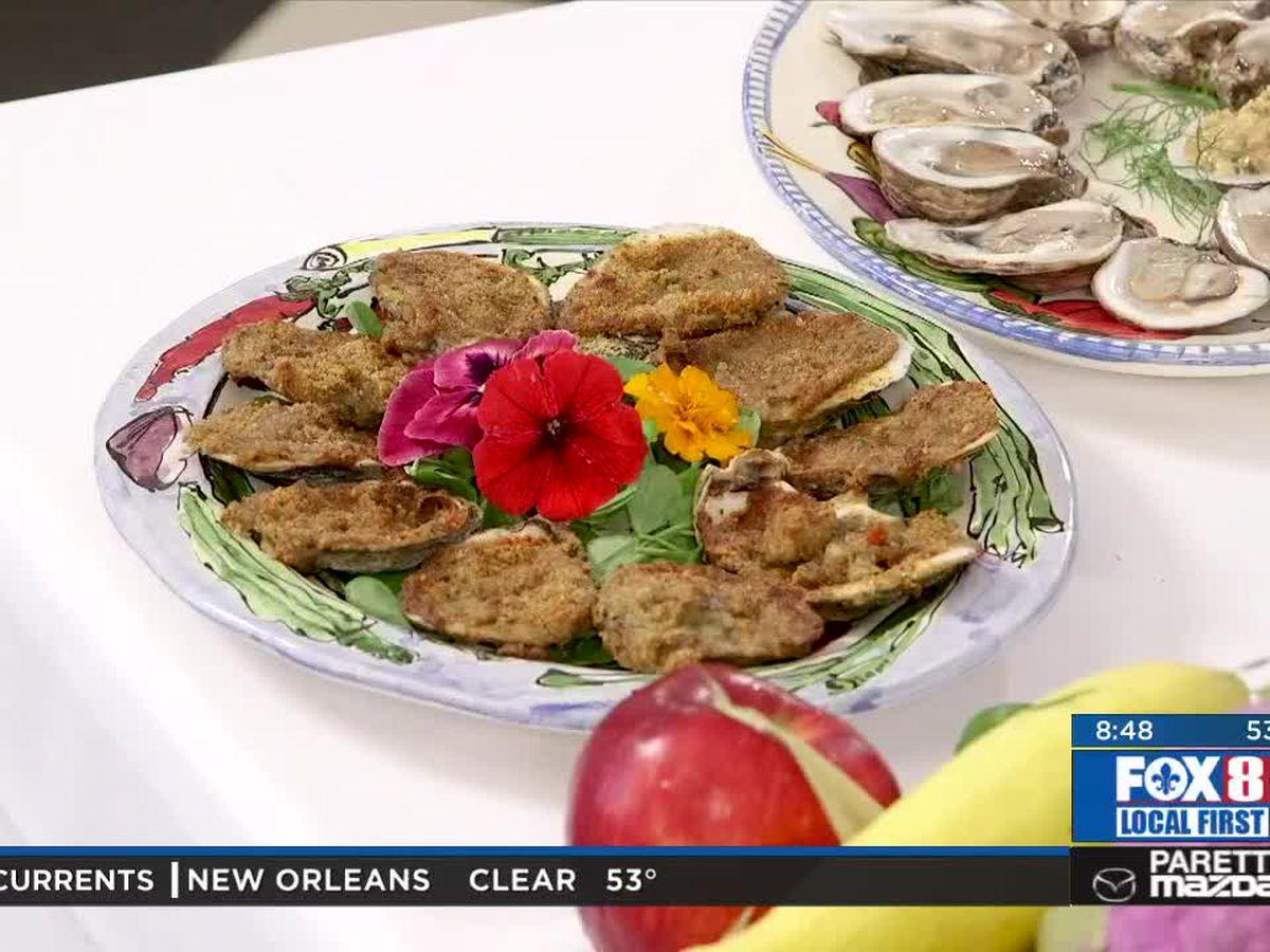 Chef Folse: Oysters Dunbar